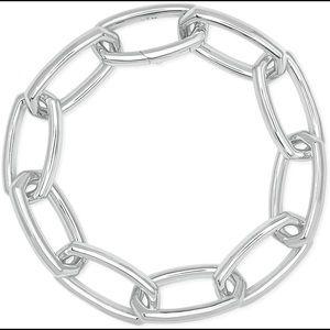 Kendra Scott Beckett bracelet Bright Silver NEW